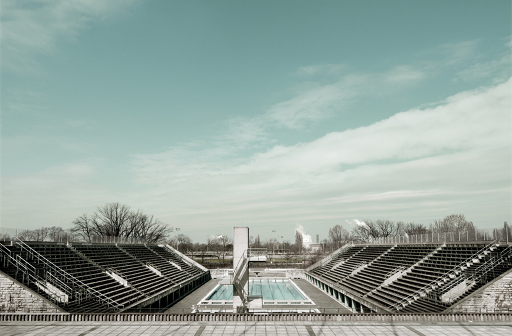 Swimming Stadium And Pool 1936 Olympic Games Haute Vitrine