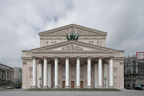 Bolshoi Theatre, Moscow 2012 by Leslie Hossack