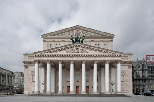 Bolshoi Theatre, Moscow 2012 by Leslie Hossack
