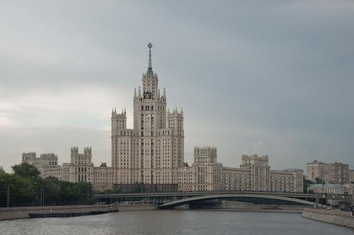 Kotelnicheskaya Apartment Building, Moscow 2012 by Leslie Hossack