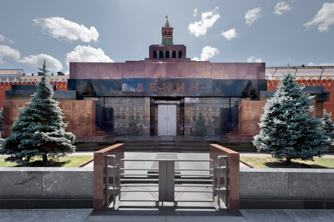 Lenin's Tomb, Moscow 2012 by Leslie Hossack