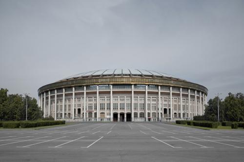 Luzhniki Stadium, Moscow 2012 by Leslie Hossack