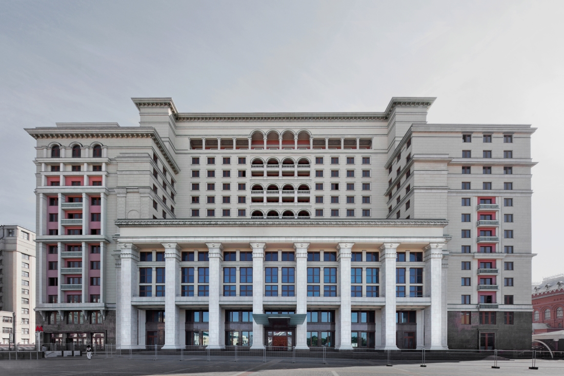 Moskva Hotel, Moscow 2012 by Leslie Hossack