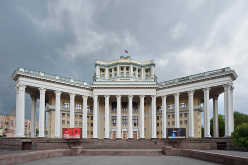 Red Army Theatre, Moscow 2012 by Leslie Hossack