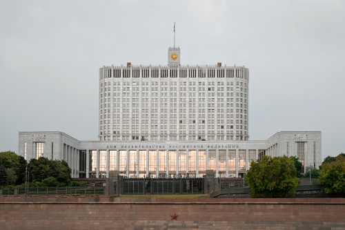 Russian White House, Moscow 2012 by Leslie Hossack