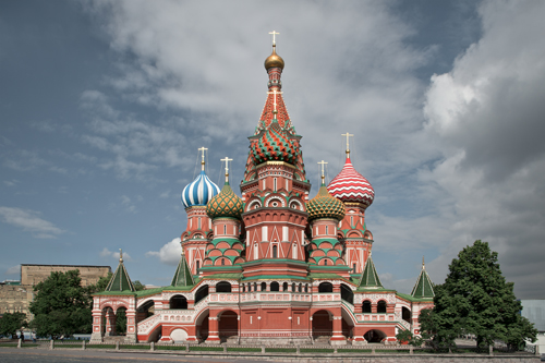 Saint Basil's Cathedral, Moscow 2012 by Leslie Hossack
