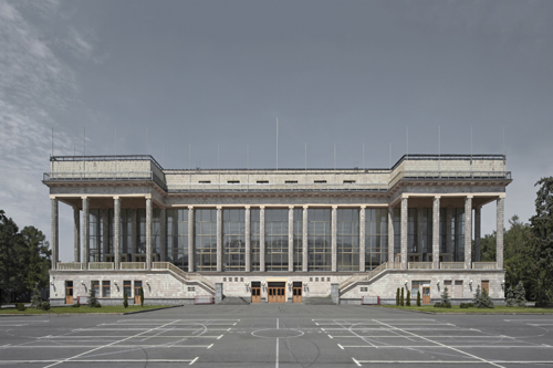 Small Arena, Luzhniki Sports Complex, Moscow 2012 by Leslie Hossack