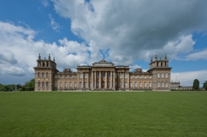03 South Facade, Blenheim Palace, Woodstock 2014 by Leslie Hossack