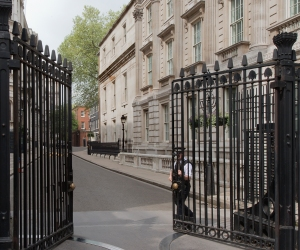 11 Downing Street, London 2014 by Leslie Hossack