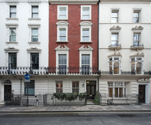 12 Bolton Street, London 2014 by Leslie Hossack