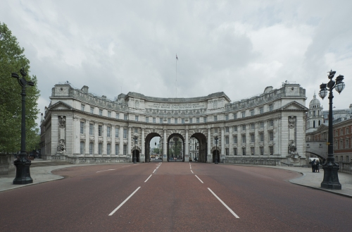 Admiralty Arch, The Mall, London 2014 by Leslie Hossack
