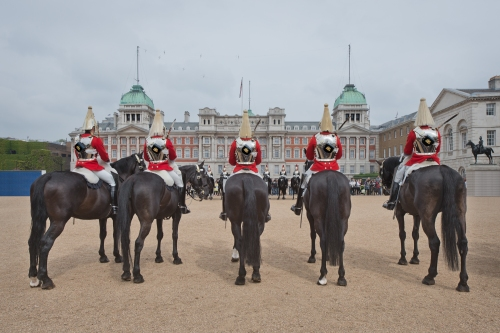Horse Guards  Parade, London 2014 by Leslie Hossack