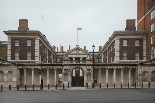 Old Admiralty Building, Whitehall, London 2014 by Leslie Hossack