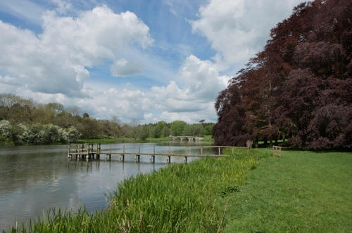 River Glyme, Blenheim Palace, Woodstock 2014 by Leslie Hossack