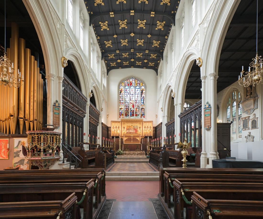 Saint Margaret's Church, Parliament Square, London 2014 by Leslie Hossack