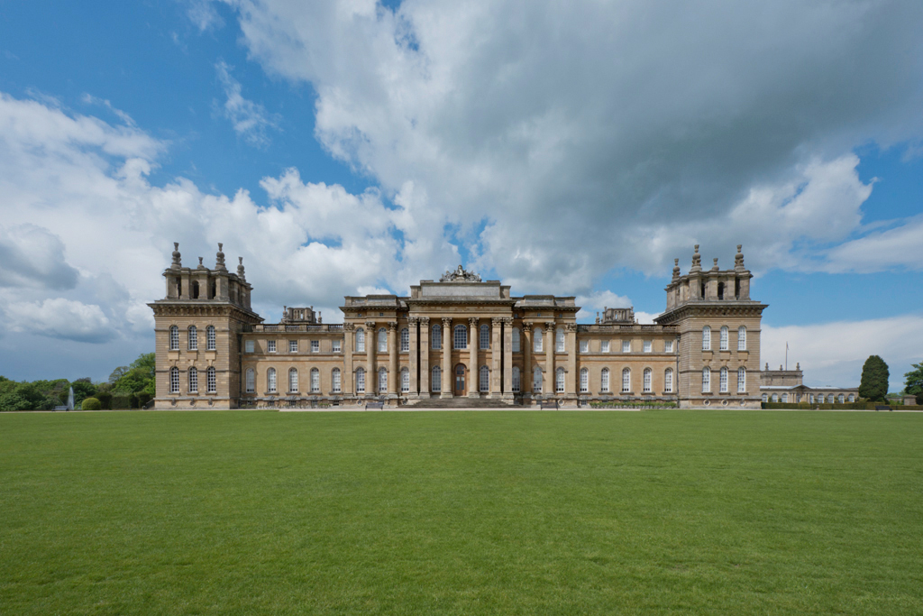 South Facade, Blenheim Palace, Woodstock 2014 by Leslie Hossack