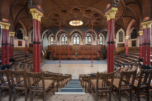 Speech Room, Harrow School, Harrow on the Hill 2014 by Leslie Hossack
