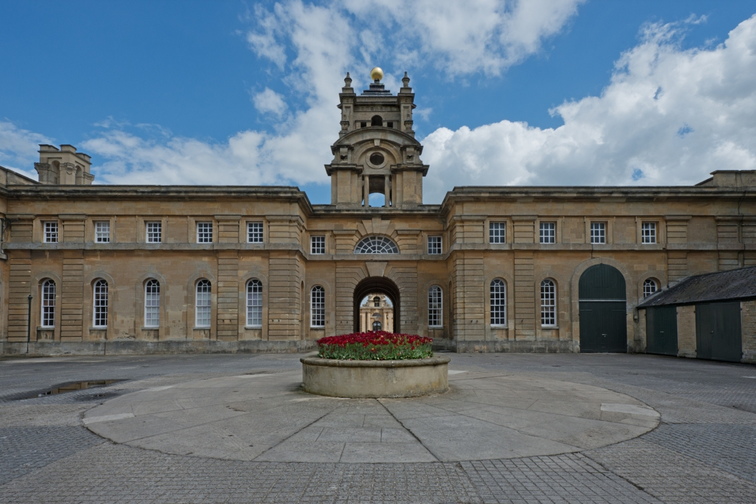 Stable Court, Blenheim Palace, Woodstock 2014 by Leslie Hossack