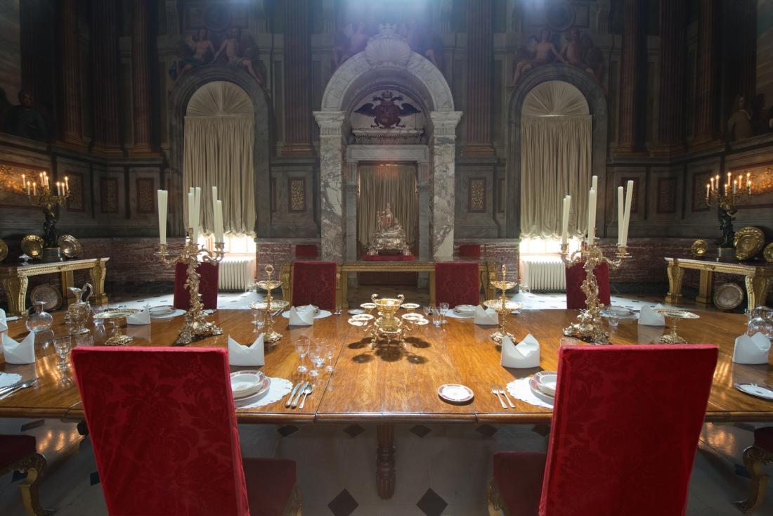 State Dining Room, Blenheim Palace, Woodstock 2014 by Leslie Hossack