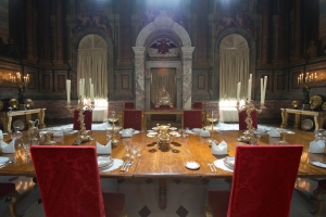 State Dining Room, Blenheim Palace, Woodstock 2014 by Leslie Hossack