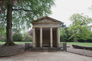 Temple of Diana, Blenheim Palace, Woodstock 2014 by Leslie Hossack