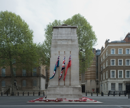 The Cenotaph, Whitehall, London 2014 by Leslie Hossack