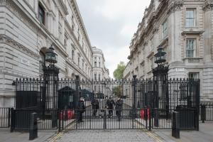 10 Downing Street, London 2014 by Leslie Hossack