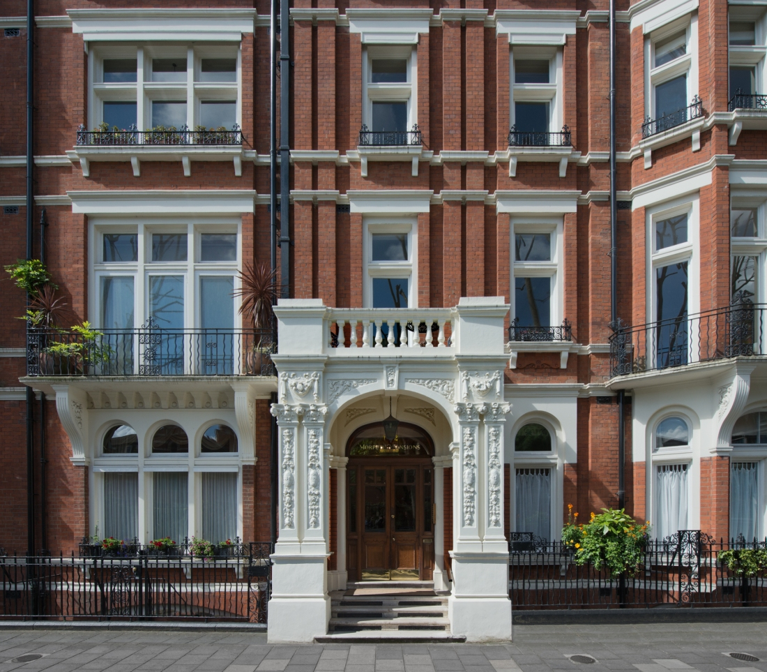 11 Morpeth Mansions, London 2014 by Leslie Hossack