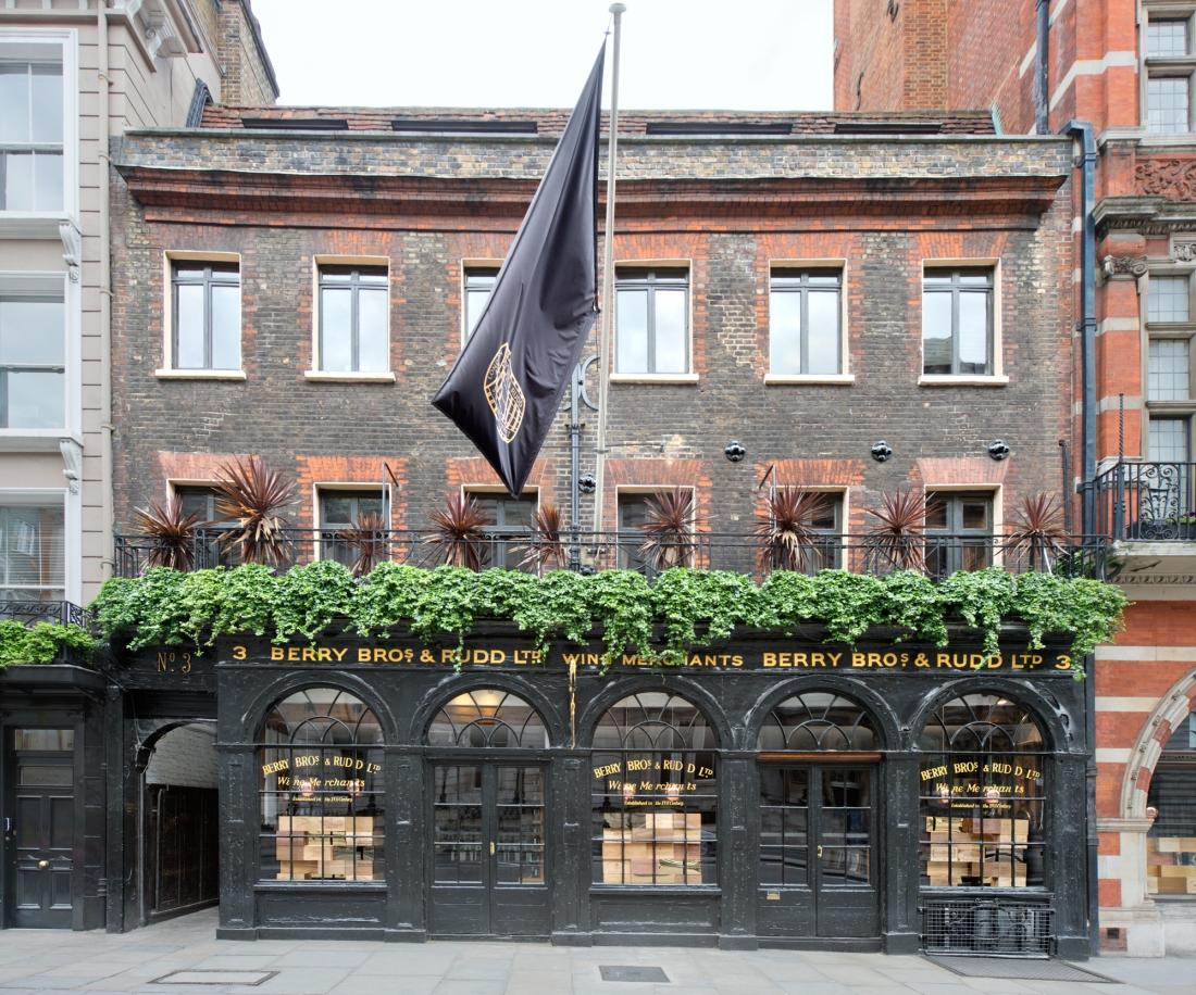 Berry Bros. & Rudd, 3 St. James's Street, London 2014 by Leslie Hossack