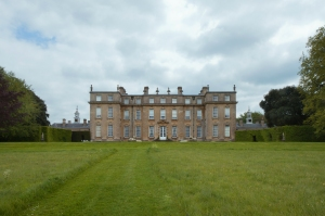 Garden Front and House, Ditchley Park 2014 by Leslie Hossack