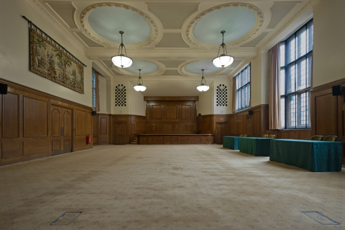 Hoar Hall, Church House, Dean's Yard, London 2014 by Leslie Hossack