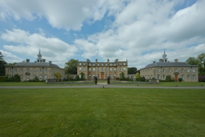 Main Entrance and House, Ditchley Park 2014 by Leslie Hossack