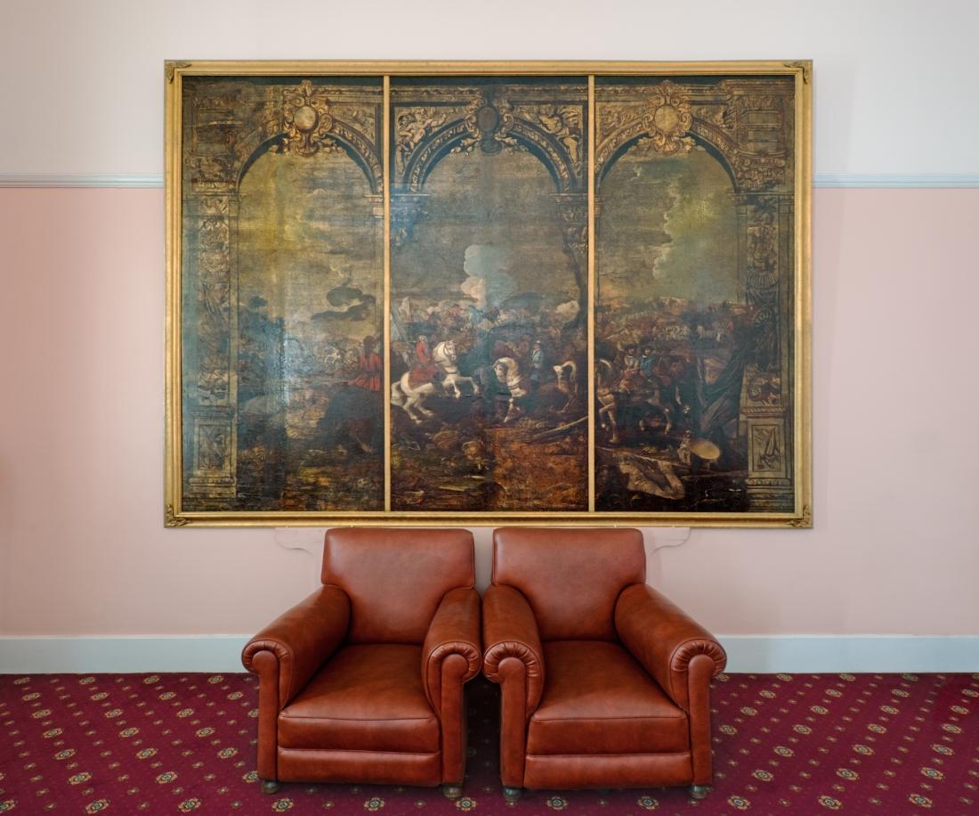 Marlborough Room, Royal Military College, Sandhurst 2014 by Leslie Hossack