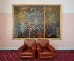 Marlborough Room, Royal Military College, Sandhurst 2014 by Leslie Hossack