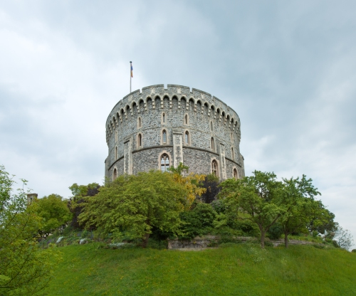 Round Tower, Windsor Castle, Windsor 2014 by Leslie Hossack