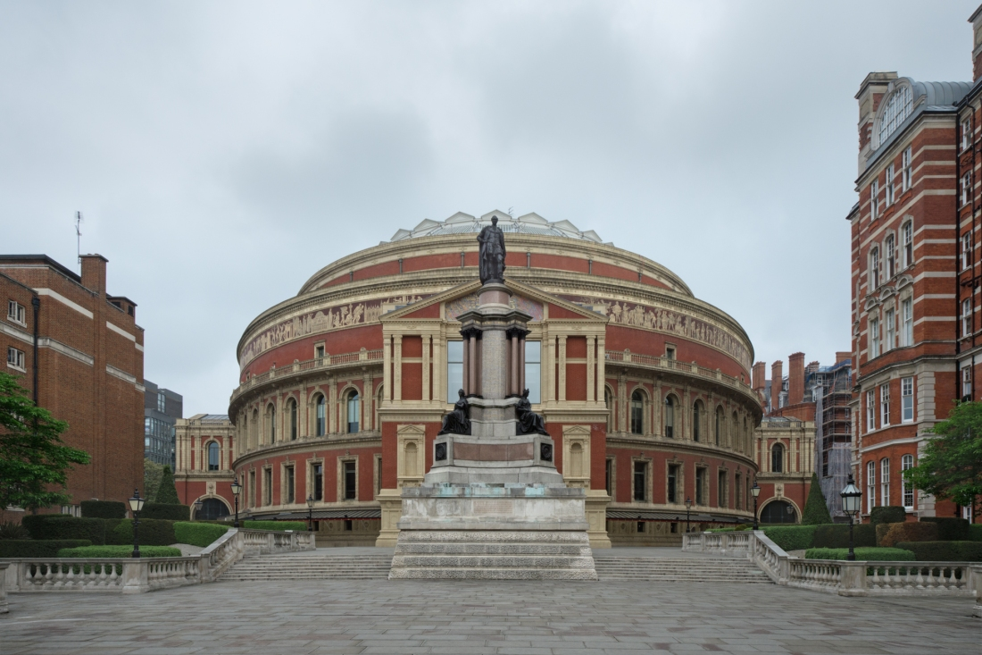 Royal Albert Hall, London 2014 by Leslie Hossack