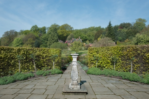 Sundial at Chartwell, Westerham 2014 by Leslie Hossack