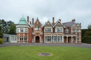 The Main House, Bletchley Park 2014 by Leslie Hossack