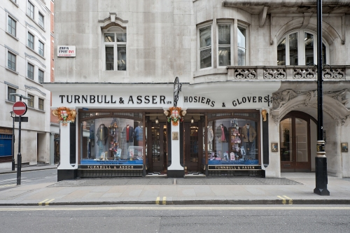 Turnbull & Asser, 71-72 Jermyn Street, London 2014 by Leslie Hossack