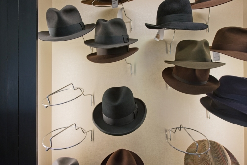 Lock & Co. Hatters, St. James's Street, London 2014 by Leslie Hossack