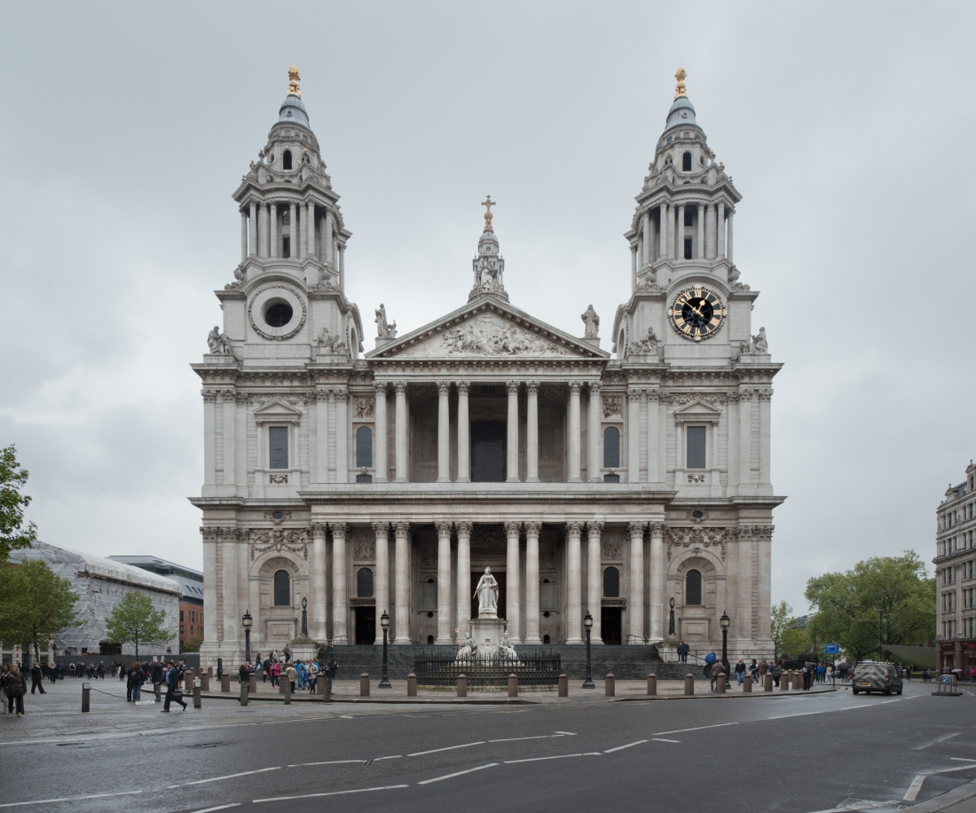 Saint Paul's Cathedral, London 2014 by Leslie Hossack