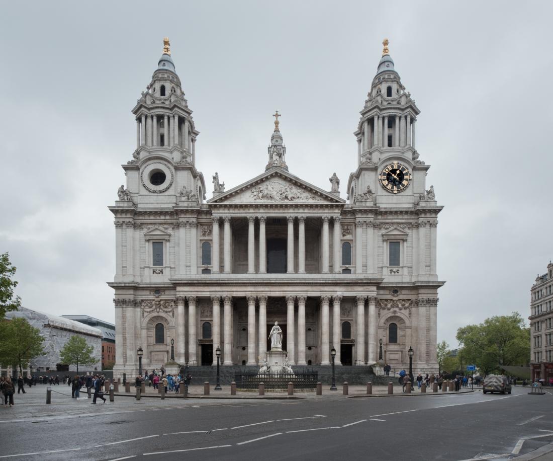 Saint Paul's Cathedral, London 2014 by Leslie Hossack