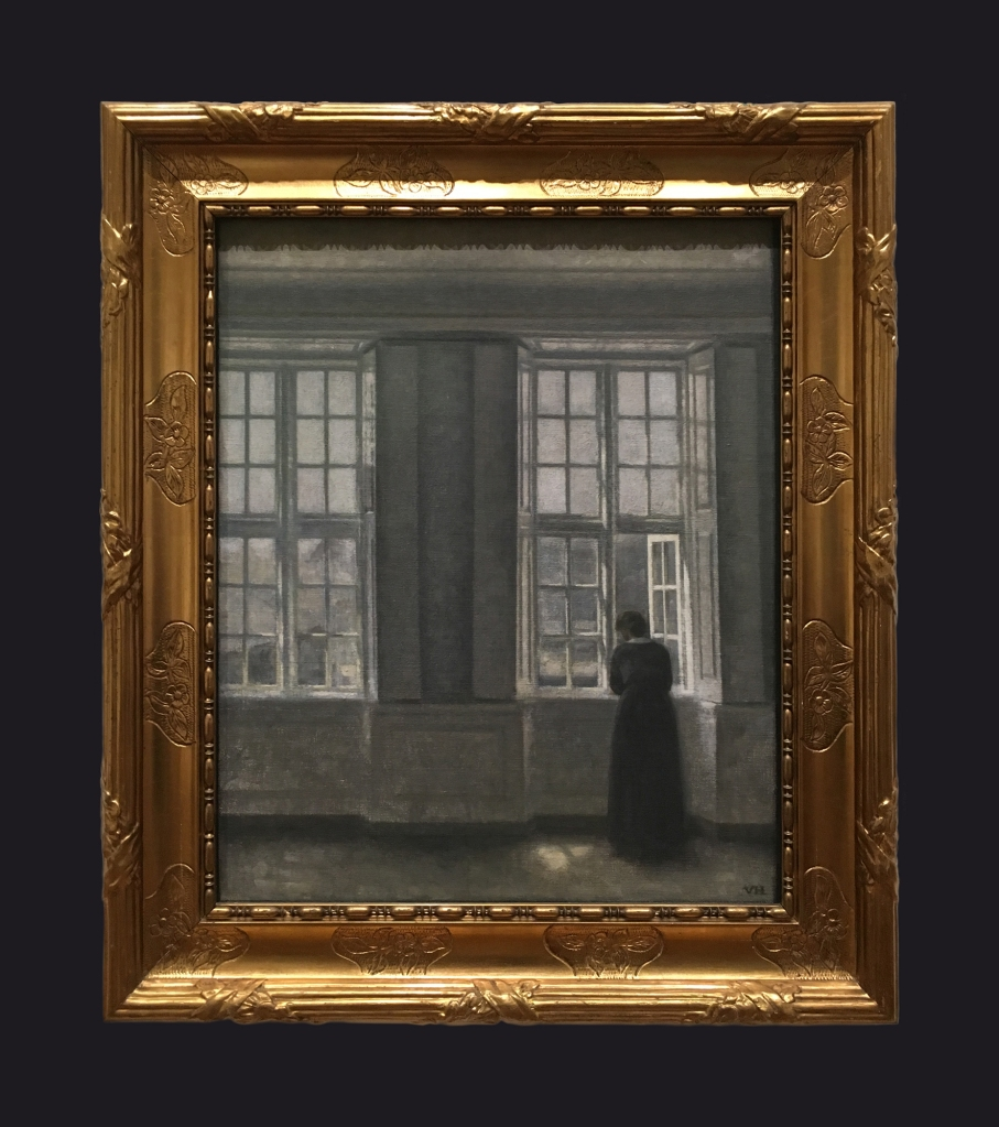 1913, The Tall Windows. Interior from the Artist's Home by Leslie Hossack