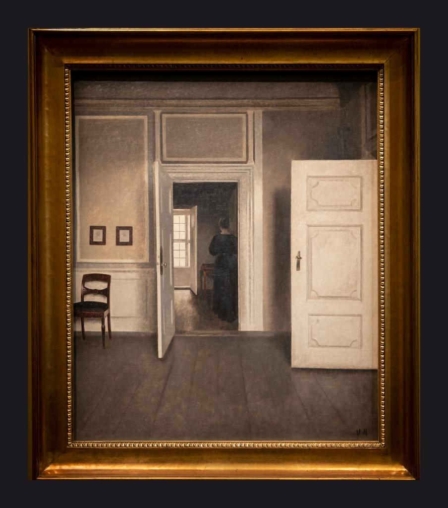 09 1901 Intérieur. Strandgade 30 by Leslie Hossack