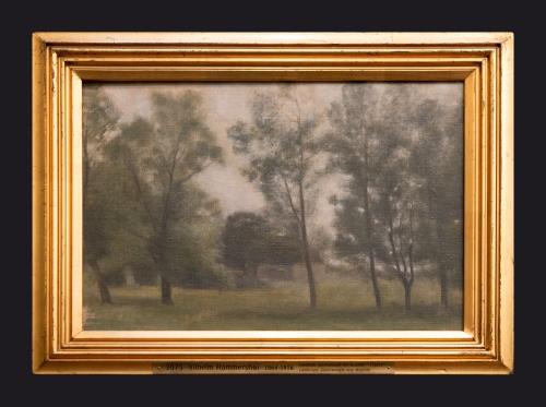1885, Landscape Gundsomagle ved Roskilde by Leslie Hossack