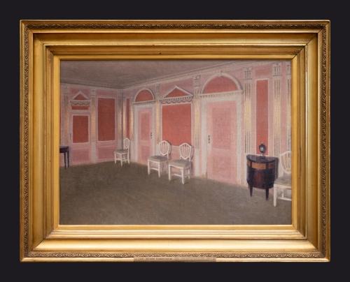 1897, Interior in Louis XVI Style, Ny Bakkehus, Rahbeks Allé by Leslie Hossack