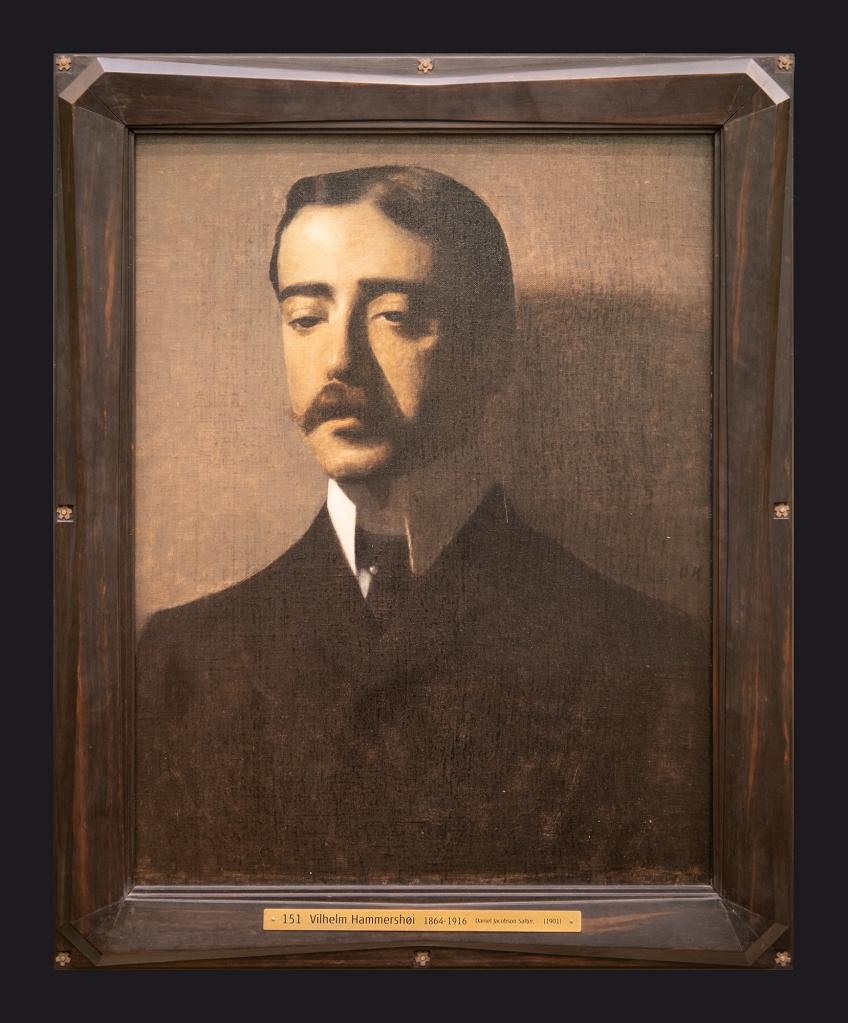 1901, Daniel Jacobson Salter by Leslie Hossack