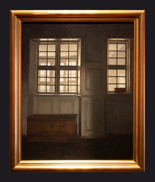 1903, Room with a View of the External Gallery. Strandgade 30 by Leslie Hossack