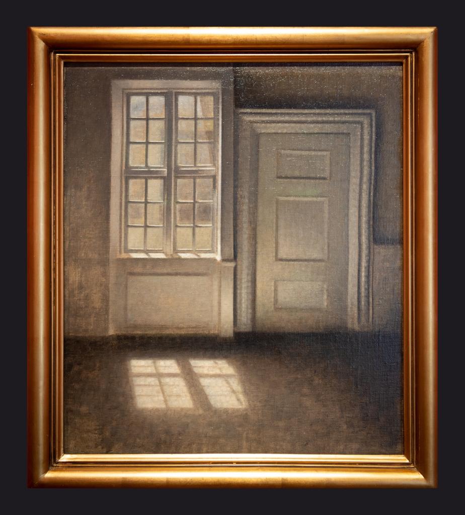 1906, Sitting Room. Study in Sunlight. Strandgade 30 by leslie Hossack