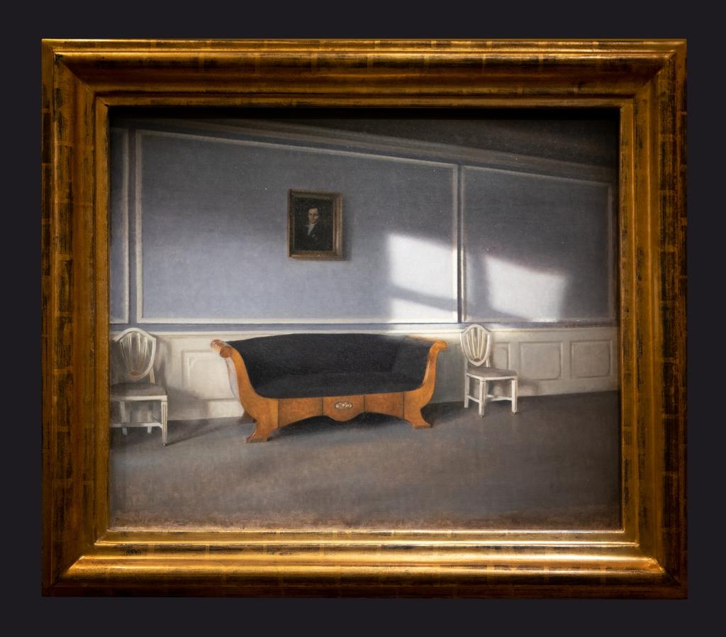 24 1903, Rayon de soleil dans le salon, III, Strandgade 30 by Leslie Hossack